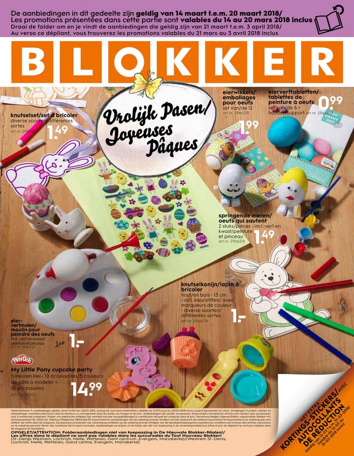 Folder Blokker du 20/03/2018 au 03/04/2018 - de-blokker-folder-be-fr-blokker-depliant-11-2018.p