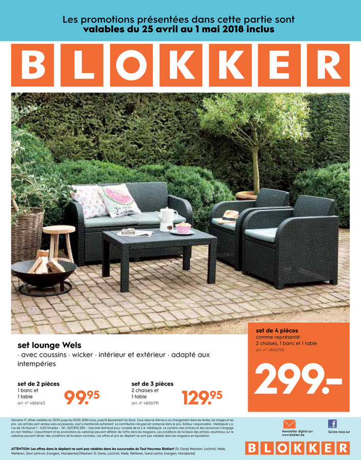 Folder Blokker du 25/04/2018 au 01/05/2018 - de-blokker-folder-be-fr-blokker-depliant-17-2018.p