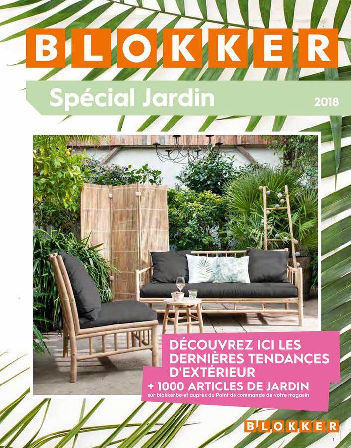 Folder Blokker du 25/06/2018 au 30/09/2018 - Blokker Special Jardin