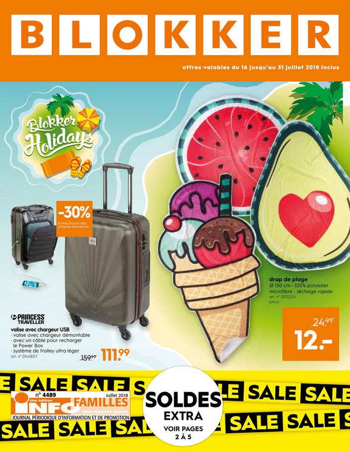 Folder Blokker du 16/07/2018 au 31/07/2018 - Soldes chez Blokker.pdf