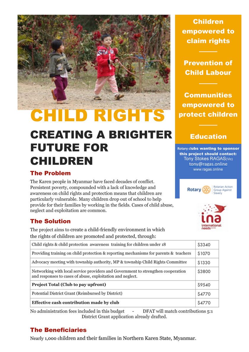 My publications - End Slavery Project Child Rights Myanmar - Page 1