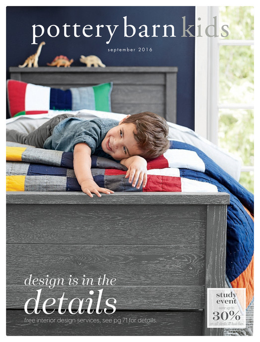 Pottery Barn Kids Pbk Fall September 2016 Page 1