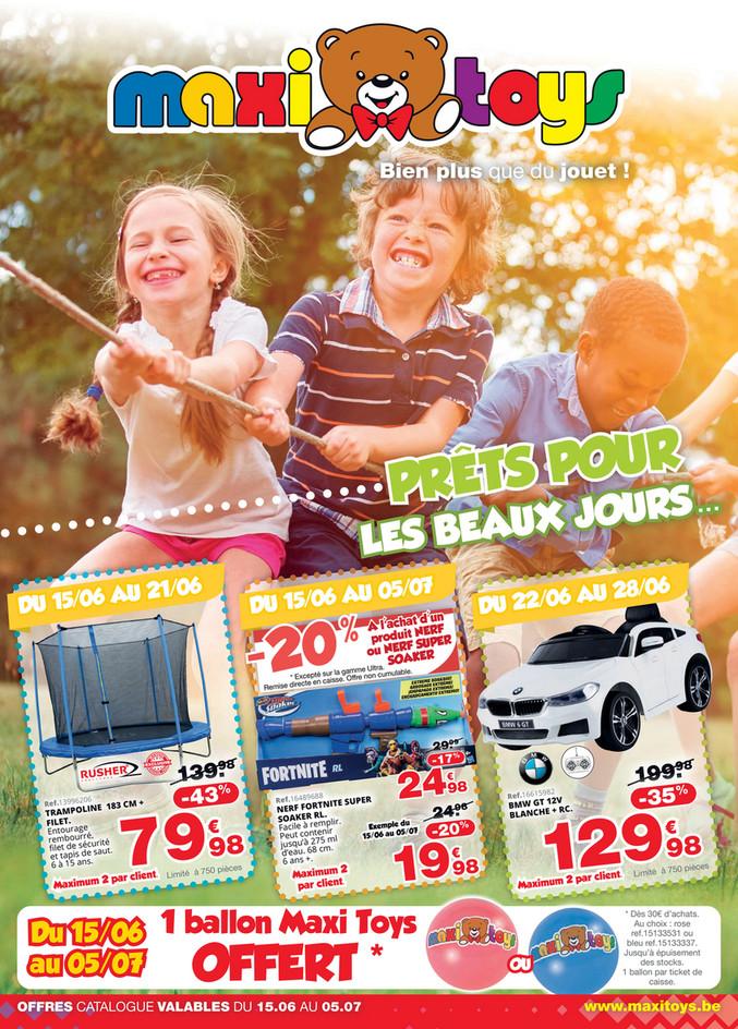Folder Maxi Toys du 15/06/2020 au 05/07/2020 - Promotions de juin