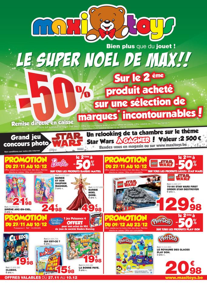Folder Maxi Toys du 24/11/2017 au 09/12/2017 - le super noel de Max jouet