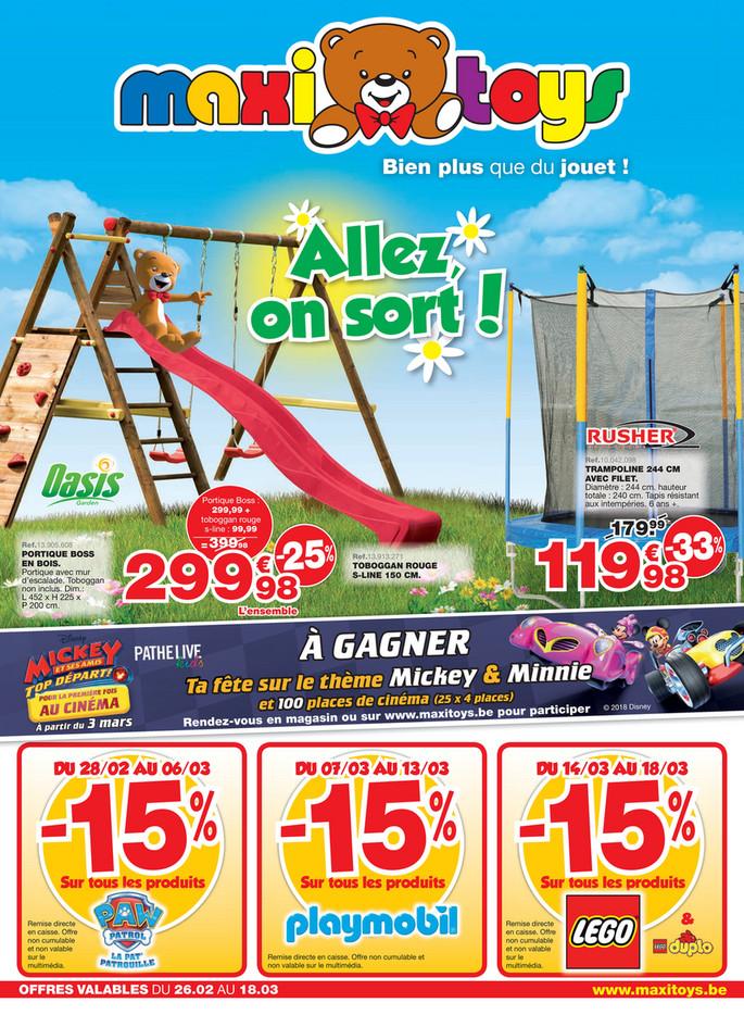 Folder Maxi Toys du 24/02/2018 au 18/03/2018 - Promo de la semaine