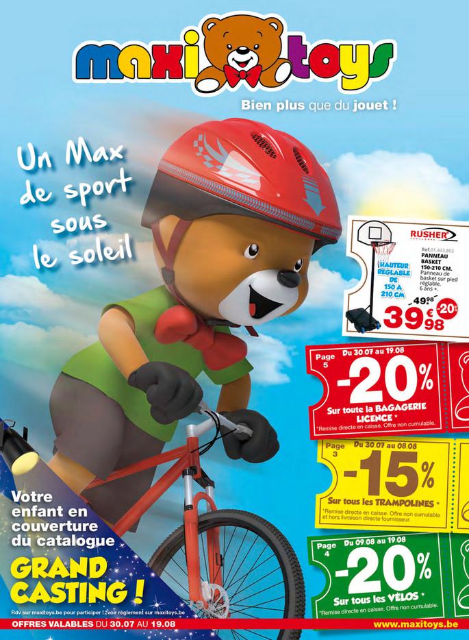 Folder Maxi Toys du 01/08/2018 au 31/08/2018 - Promotions du mois