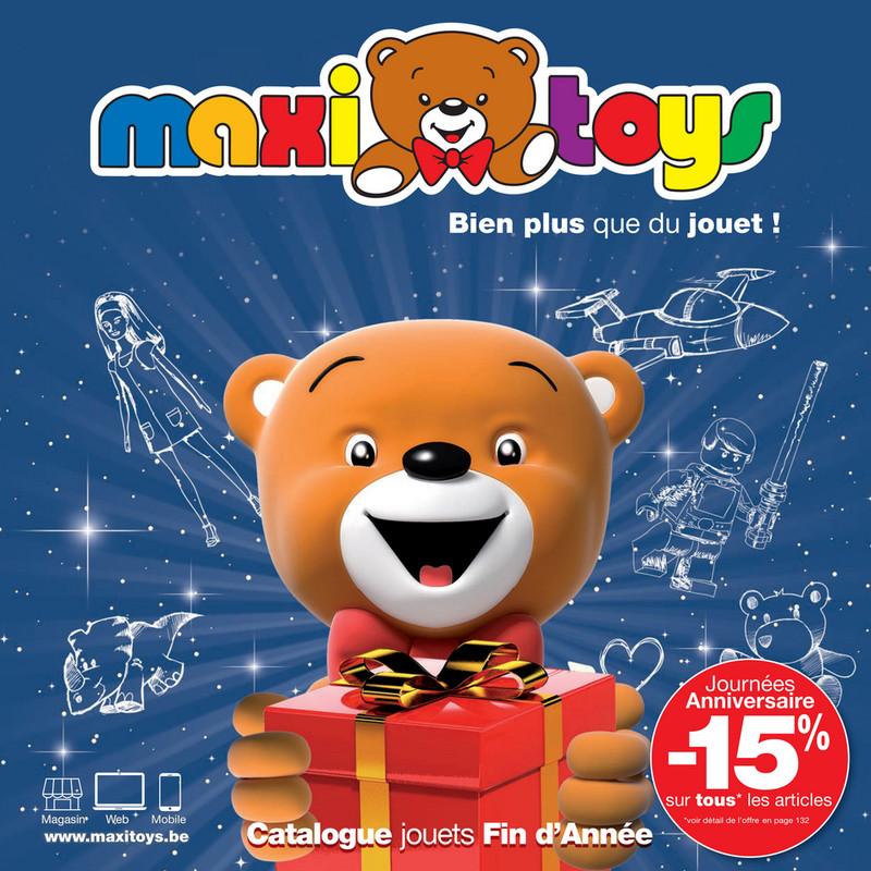 Folder Maxi Toys du 01/10/2018 au 31/10/2018 - Promotions du mois