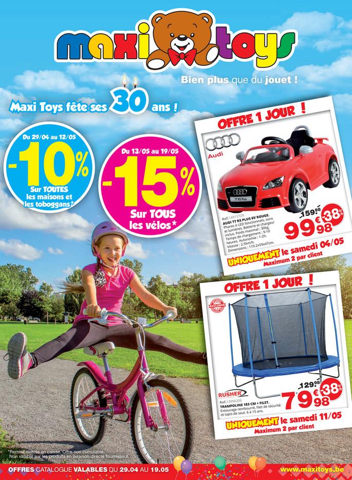Folder Maxi Toys du 29/04/2019 au 19/05/2019 - Promotions du mois