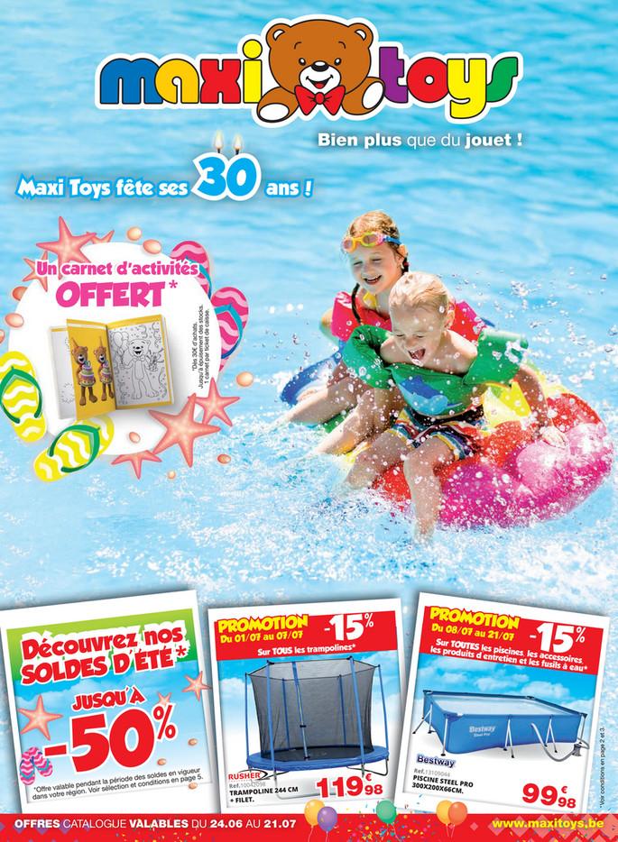 Folder Maxi Toys du 24/06/2019 au 21/07/2019 - Promotions du mois