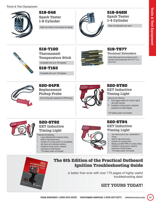 Bryan Outboard, Inc  - FULL-2015_16-CDI-Electronics-Catalog-for