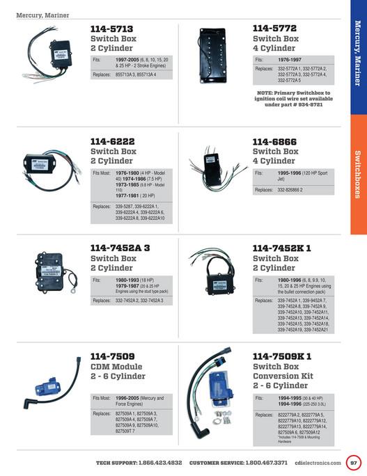 Bryan Outboard, Inc  - FULL-2015_16-CDI-Electronics-Catalog