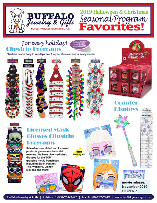 Buffalo Jewelry & Gifts - BJ -Holiday Grocery Programs  2019 - Page