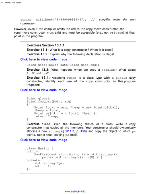 My publications - C++ Primer, 5th Edition - Page 622-623