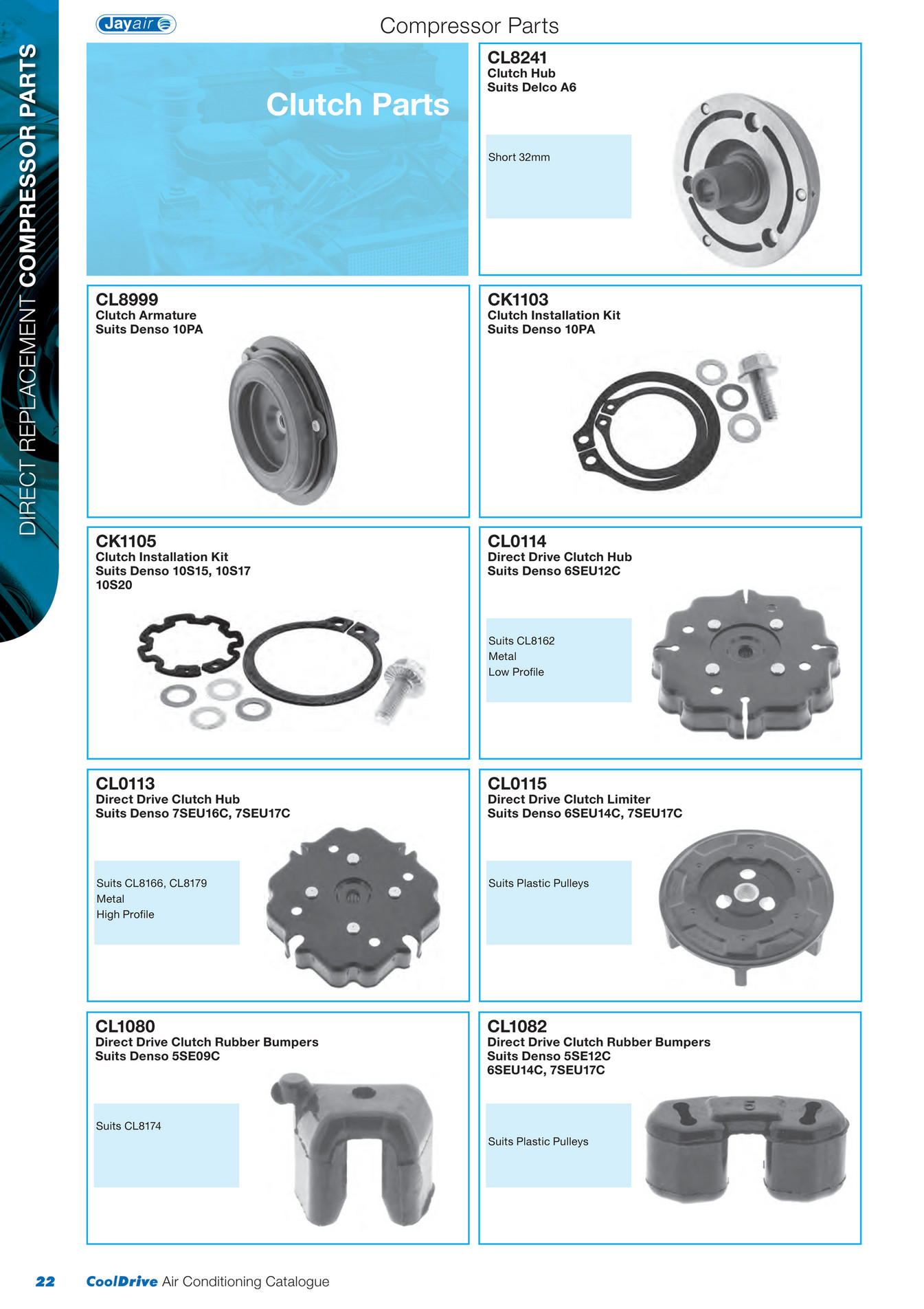 Cooldrive - 2014 Air Conditioning Catalogue - Page 24-25