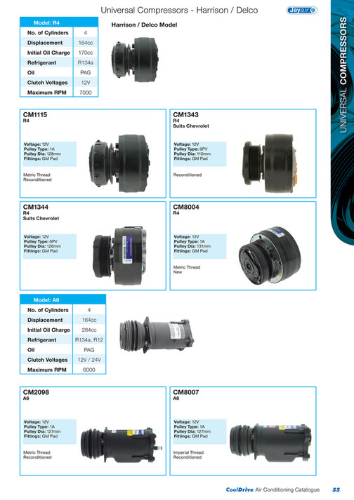 Cooldrive - 2014 Air Conditioning Catalogue - Page 56-57 - Created