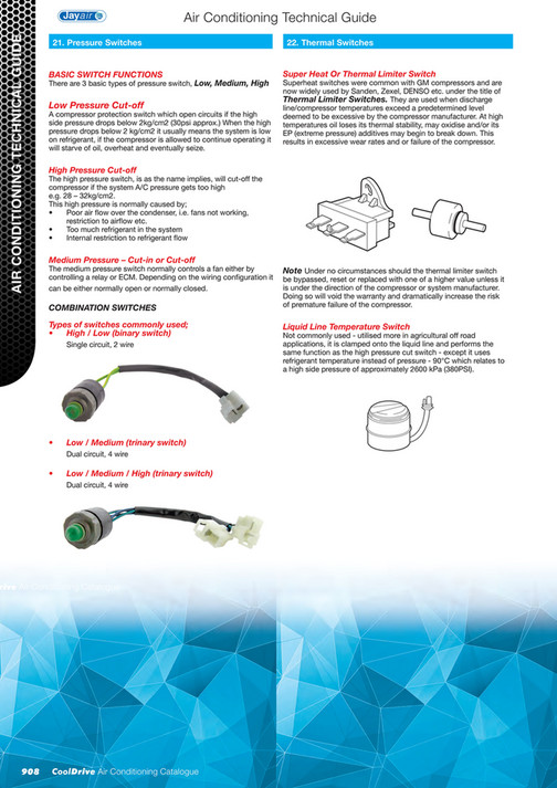 Cooldrive - 2014 Air Conditioning Catalogue - Page 910-911 - Created