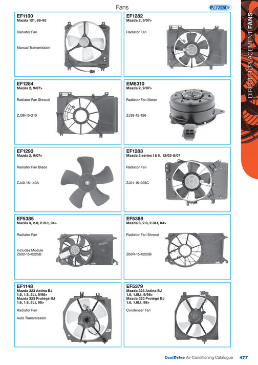 Cooldrive - 2014 Air Conditioning Catalogue - Page 478-479 - Created