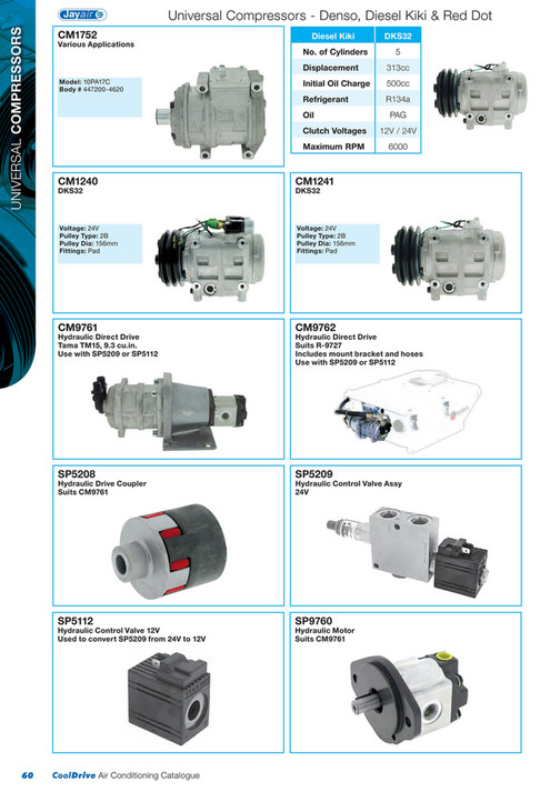 Cooldrive - 2014 Air Conditioning Catalogue - Page 62-63