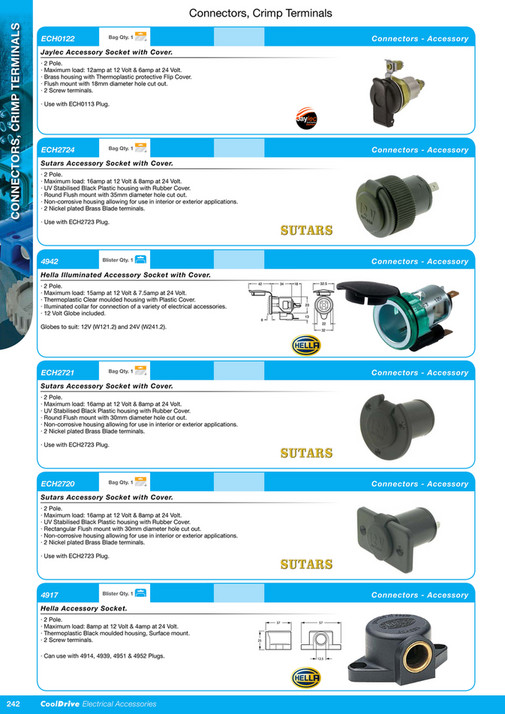 4489c8ffa17b Cooldrive - 2016 Electrical Accessories Catalogue - Page 258-259 ...