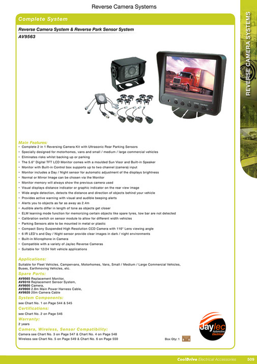 Cooldrive - 2016 Electrical Accessories Catalogue - Page 524-525