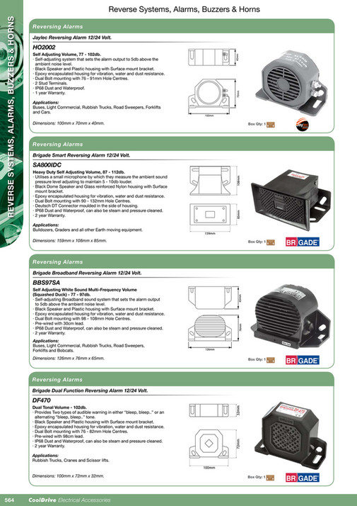Cooldrive - 2016 Electrical Accessories Catalogue - Page 580