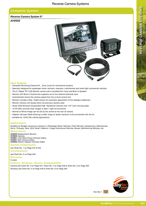 Cooldrive - 2016 Electrical Accessories Catalogue - Page 518-519