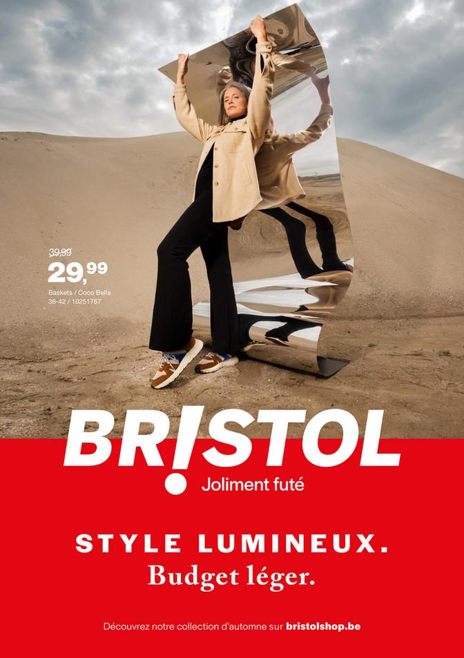 Folder Bristol du 24/09/2021 au 10/10/2021 - Promotions de la semaine 39