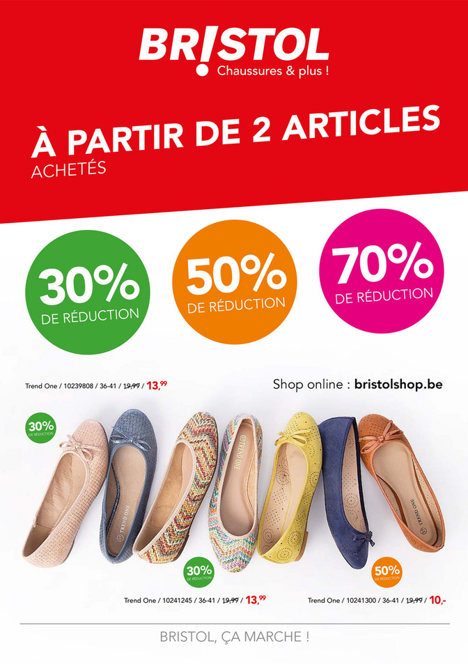 Folder Bristol du 08/06/2019 au 30/06/2019 - promotions de la semaine 24