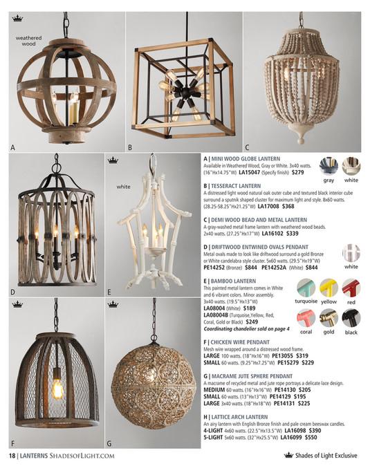 Weathered Wood A B C Mini Globe Lantern Available In