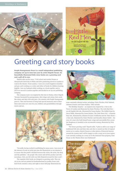 Detailextra ltd giftware review mayjune 2018 page 26 27 greetings stationery greeting card story books purple pomegranate press is a small independent publishing company m4hsunfo