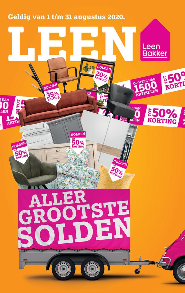 Leen Bakker folder van 01/08/2020 tot 31/08/2020 - Solden