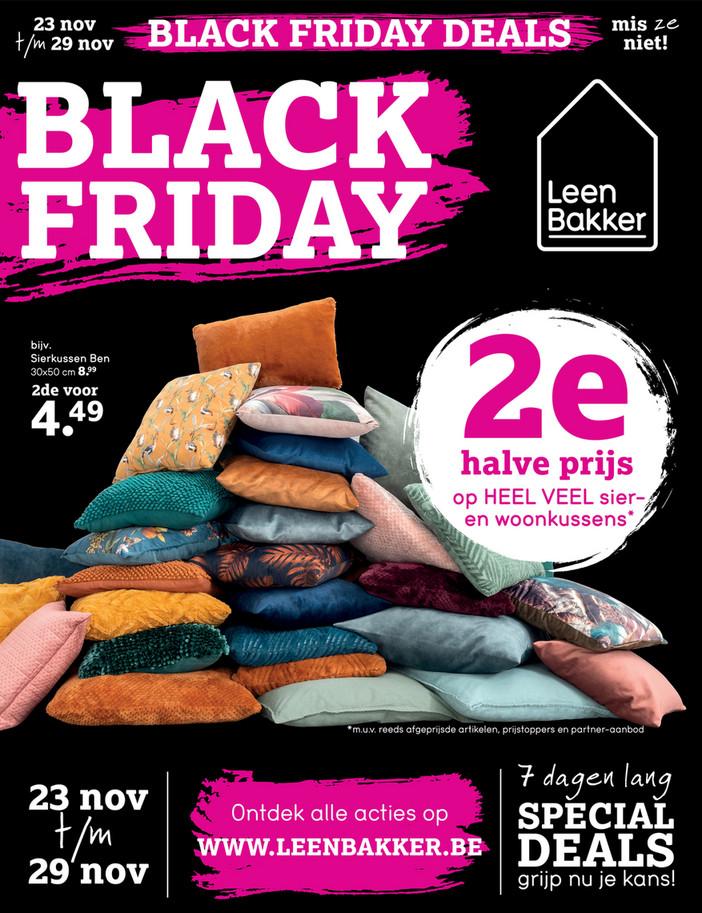 Leen Bakker folder van 23/11/2020 tot 29/11/2020 - Weekpromoties 47 black friday