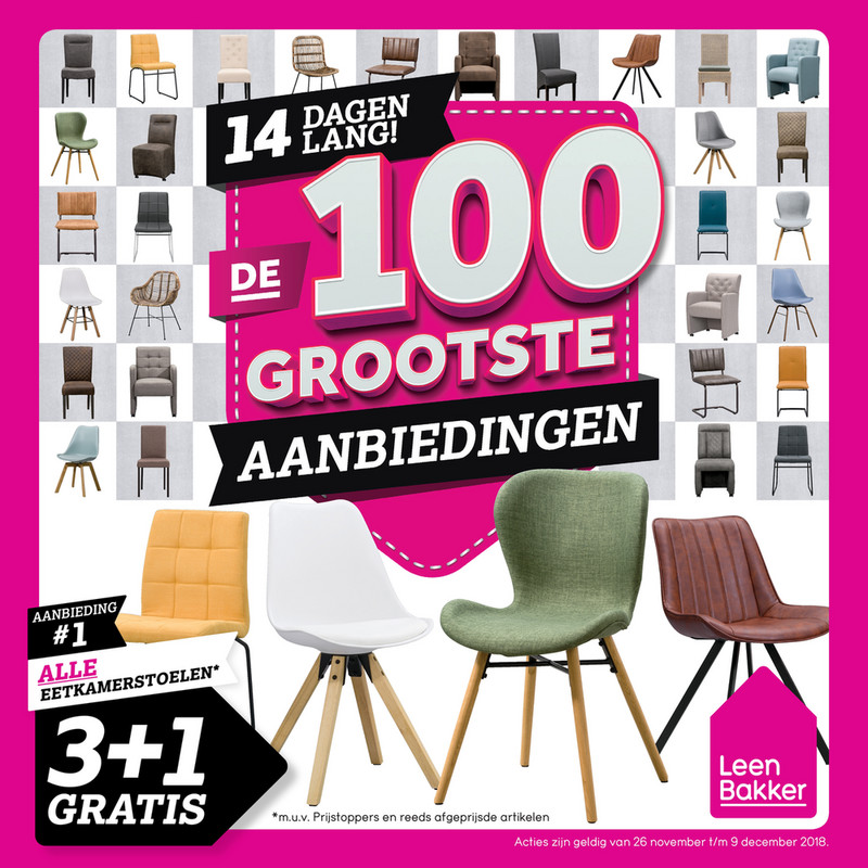 Leen Bakker folder van 26/11/2018 tot 09/12/2018 - Weekpromoties 48