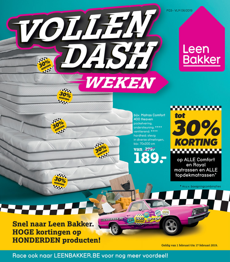 Leen Bakker folder van 01/02/2019 tot 17/02/2019 - Weekpromoties 6