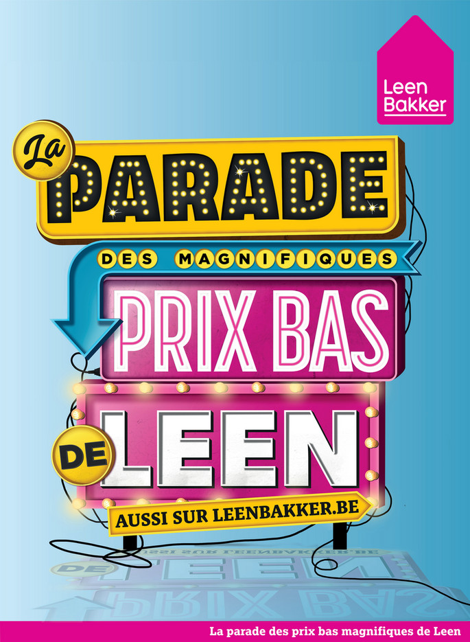 Folder Leen Bakker du 31/08/2020 au 20/09/2020 - Promotions de la semaine 36
