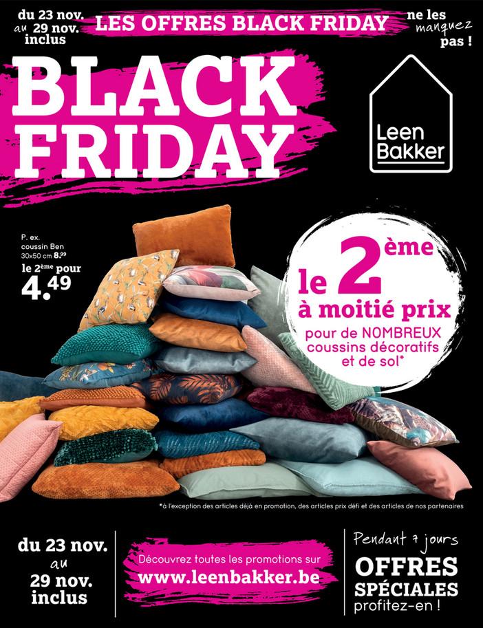 Folder Leen Bakker du 23/11/2020 au 29/11/2020 - Promotions de la semaine 47 black friday