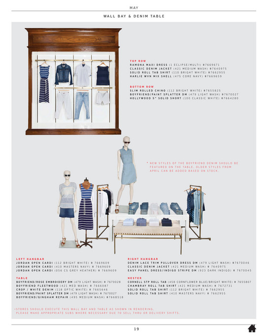 d5f8fc70 Tommy Hilfiger - Summer 2016 Womenswear Guidelines - Page 18-19 ...