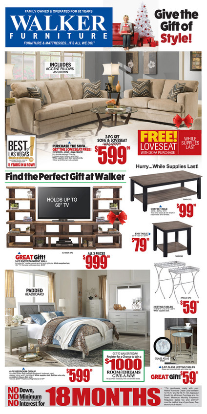 Awesome Walker Furniture Store   Largest Selection Of Furniture In Las Vegas   Flyer