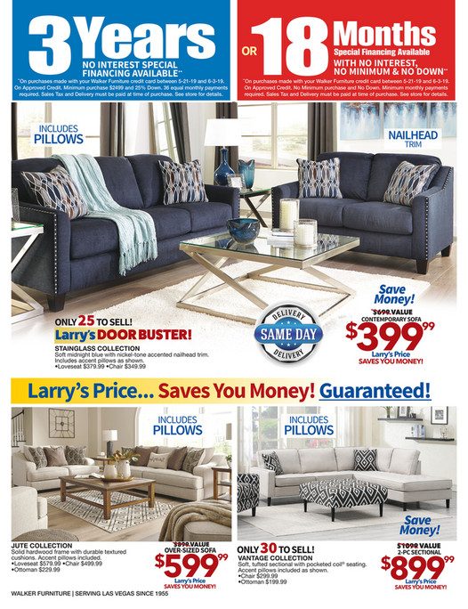 Specials | Walker Furniture Las Vegas