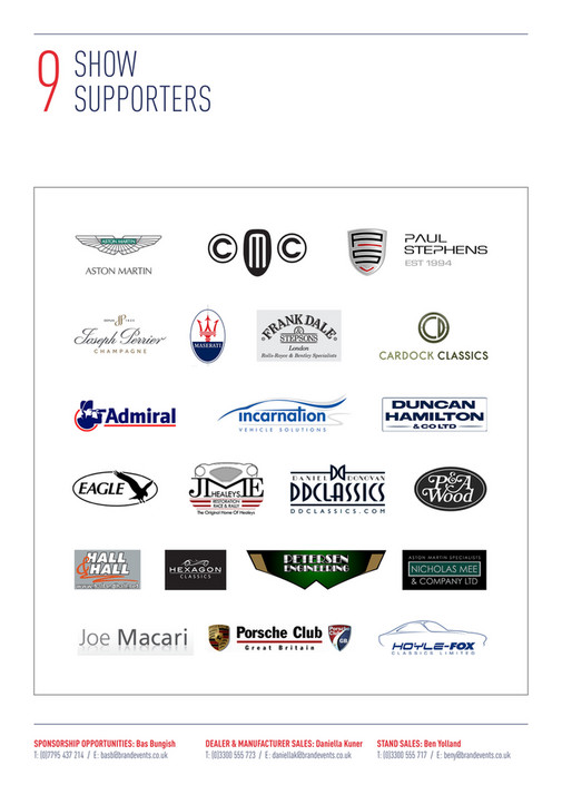 Brand Events Ltd - LCCS Sales & Sponsorship Brochure - Page