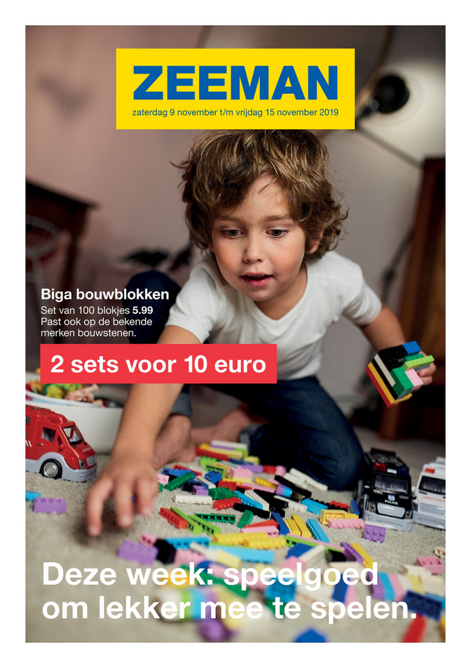 Zeeman folder van 09/11/2019 tot 15/11/2019 - Weekpromoties 46