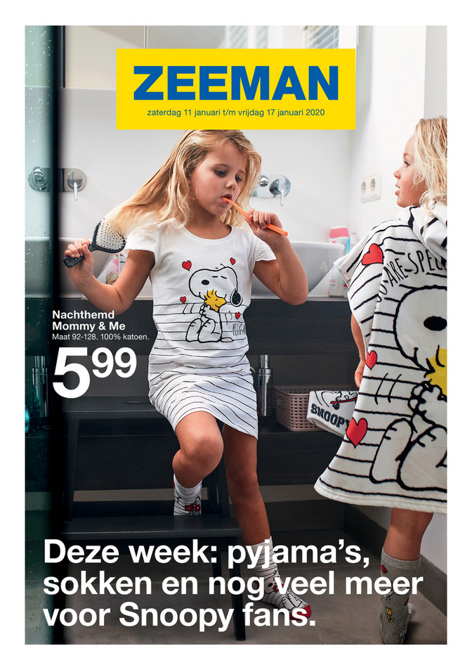 Zeeman folder van 11/01/2020 tot 17/01/2020 - Weekpromoties 3