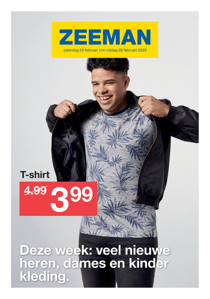 Zeeman folder van 22/02/2020 tot 28/02/2020 - Weekpromoties 09