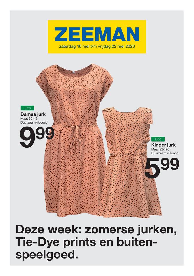 Zeeman folder van 16/05/2020 tot 22/05/2020 - Weekpromoties 21
