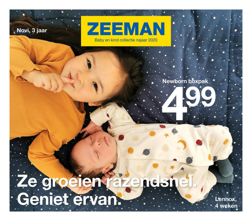 Zeeman folder van 11/08/2020 tot 31/12/2020 - babyfolder NL