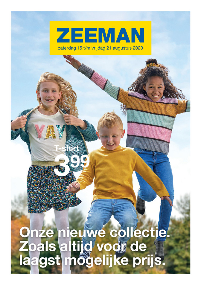 Zeeman folder van 15/08/2020 tot 21/08/2020 - Weekpromoties 34