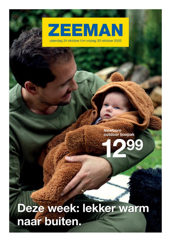 Zeeman folder van 24/10/2020 tot 30/10/2020 - Weekpromoties 44