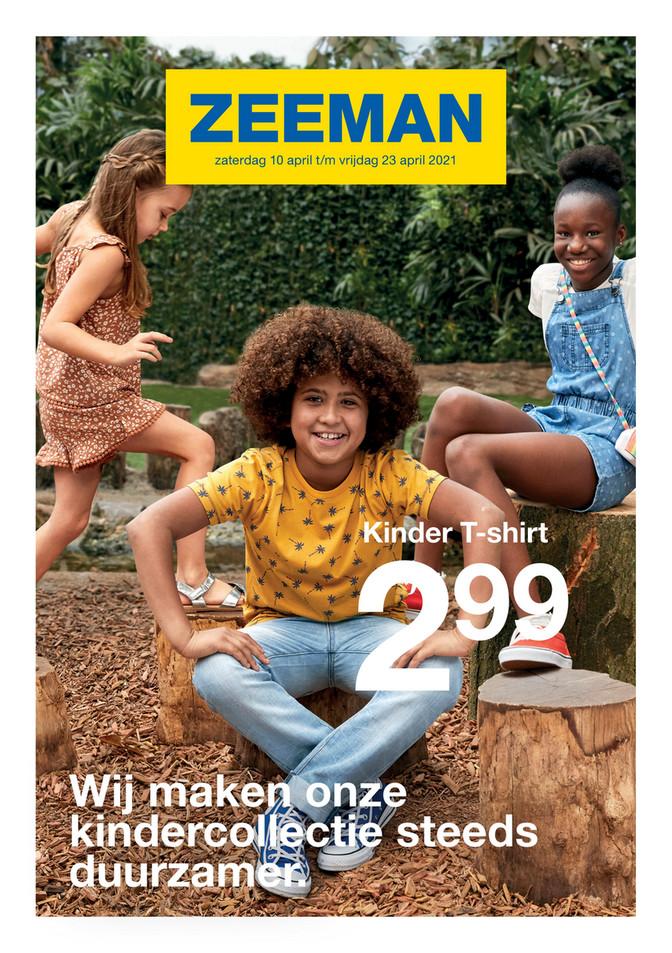 Zeeman folder van 10/04/2021 tot 23/04/2021 - Weekpromoties 15-16