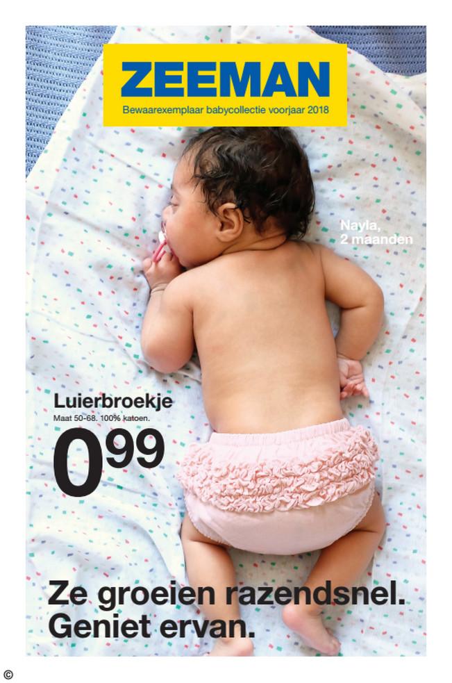Zeeman folder van 22/02/2018 tot 27/07/2018 - Babyfolder