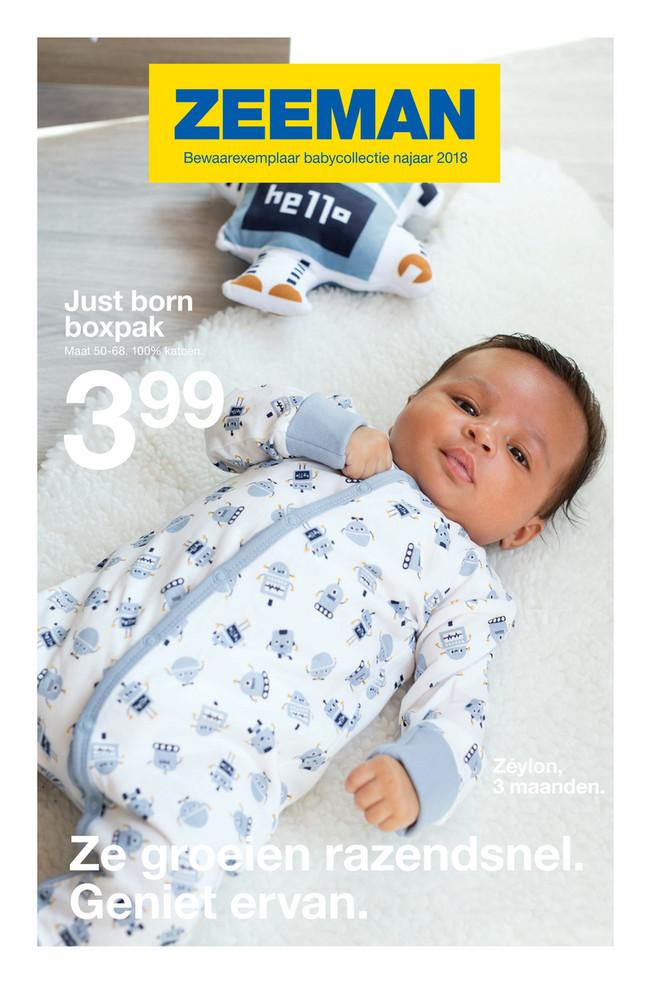 Zeeman folder van 29/06/2018 tot 31/12/2018 - Zeeman Babyfolder NL